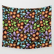 Filigree Floral smaller scale Wall Tapestry