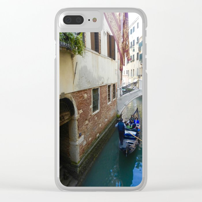 Gondola Ride Clear iPhone Case