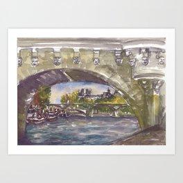 Pont Neuf Art Print