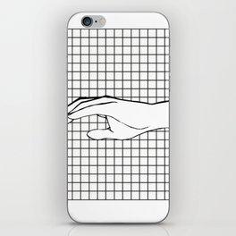 Human Hand iPhone Skin