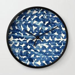 Indigo love Wall Clock