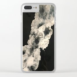 Smoke in the night Clear iPhone Case