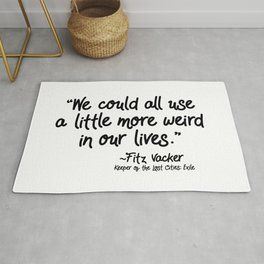 Fan-favorite Fitz Quote Rug