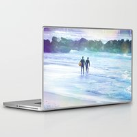 boys Laptop & iPad Skins featuring Surfer Boys by Teresa Chipperfield Studios