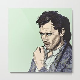 Tom Hiddleston Metal Print