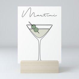 Martini Mini Art Print