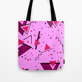 Pink Error Tote Bag