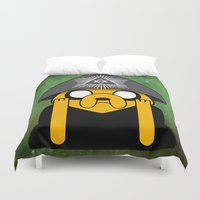 crowley Duvet Covers featuring Jake Crowley by Conversa entre Adeptus
