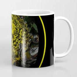 Black Yellow Pink Design Coffee Mug