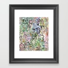 Anymanimals+Whatlifethrowsatyou    Nonrandom-art1 Framed Art Print