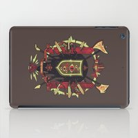 lovecraft iPad Cases featuring Astral Ancestry by Hector Mansilla