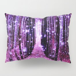 Magical Forest Pink & Purple Pillow Sham