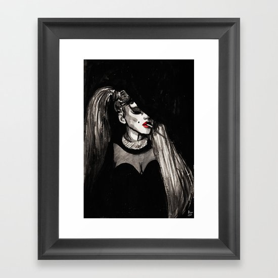 Government Hooker Framed Art Print