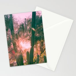 Magical Cacti Forest Stationery Cards