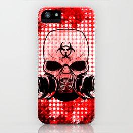 Guerrilla Bio-Hazard Warrior iPhone Case