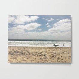 San Diego Surfers Metal Print