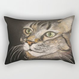 Jack. Main Coon Tabby Rectangular Pillow