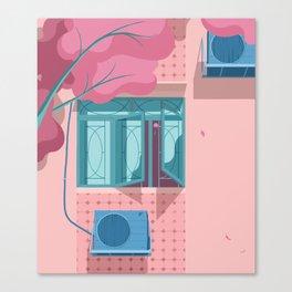 Windows in the Old Neighbourhood Canvas Print