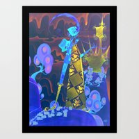 Pied Piper of Hamelin Art Print