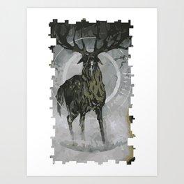 Apprentice Lavellan Tarot Card Art Print