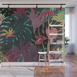 Tropical Tendencies Wall Mural