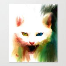 FERAL FRENZY Canvas Print