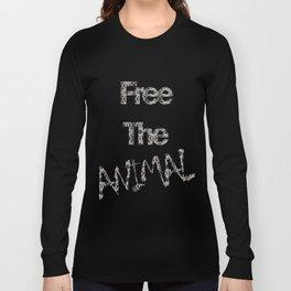 FREE THE ANIMAL - ZEBRA Long Sleeve T-shirt