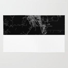 Colorado Springs map Colorado Rug