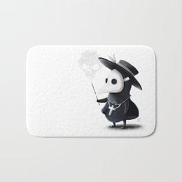 The little black Death Bath Mat