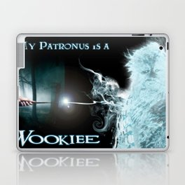 My Patronus is a Wookiee (with text) Laptop & iPad Skin