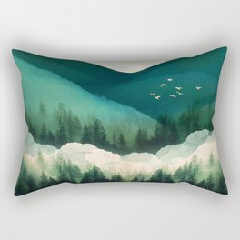 Emerald Hills Rectangular Pillow