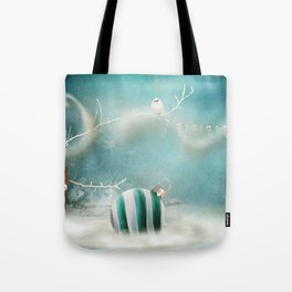 Minimal Christmas Tote Bag