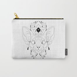 Mandala Sphynx Carry-All Pouch