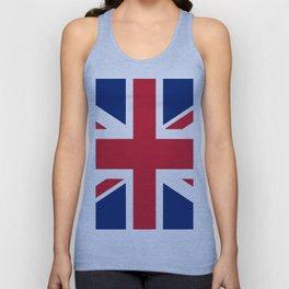 Flag of the United Kingdom Unisex Tank Top