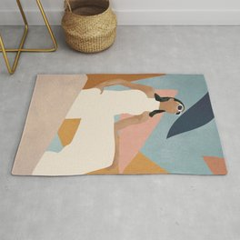 Living in Abstraction Rug