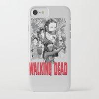 walking dead iPhone & iPod Cases featuring Walking Dead by Matt Fontaine