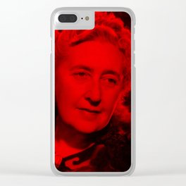 Margaret Rutherford - Celebrity (Photographic Art) Clear iPhone Case