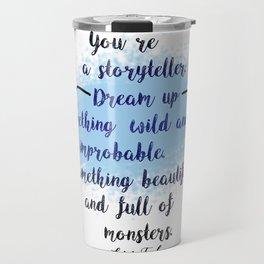 Storyteller | Strange the Dreamer Travel Mug