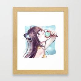 Hanyoko 2*GirlsCollection* Framed Art Print