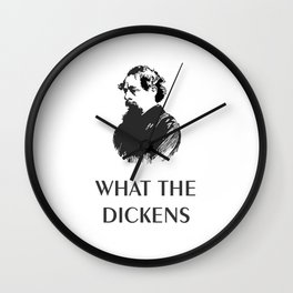 What the Dickens Wall Clock