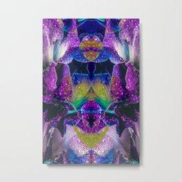 Psychedelic Gladiola Metal Print