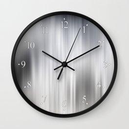 Color Streaks No 8 Wall Clock