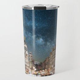 Madrid at night Travel Mug