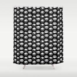 9 Eyeballz Shower Curtain