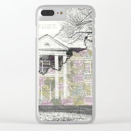 Kentucky Travel Map Lancaster Clear iPhone Case