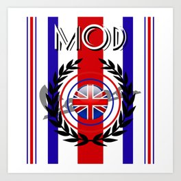 We are the MODs XX! Art Print