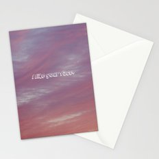 I like your face. Stationery Cards