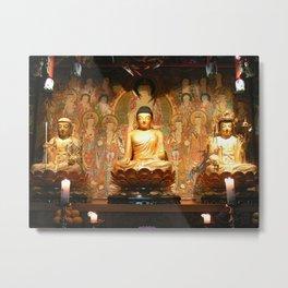 The Buddha & Bodhisattva Metal Print