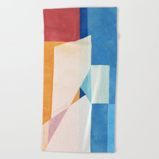 Sailing With Torn Sails Beach Towel