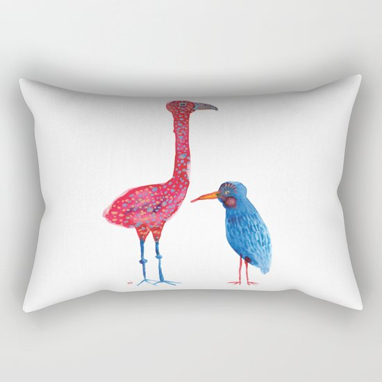 Birdie Brothers Rectangular Pillow
